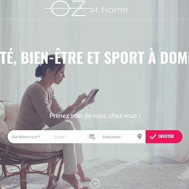 capture d'image du site ozathome, pour illustrer mon action en gestion de projet